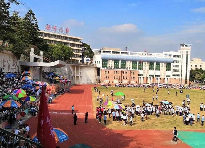 福清第一中学校园风光