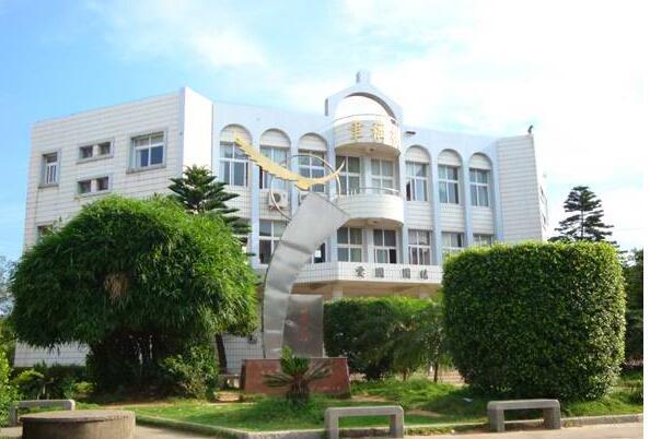 三山中学校园风光