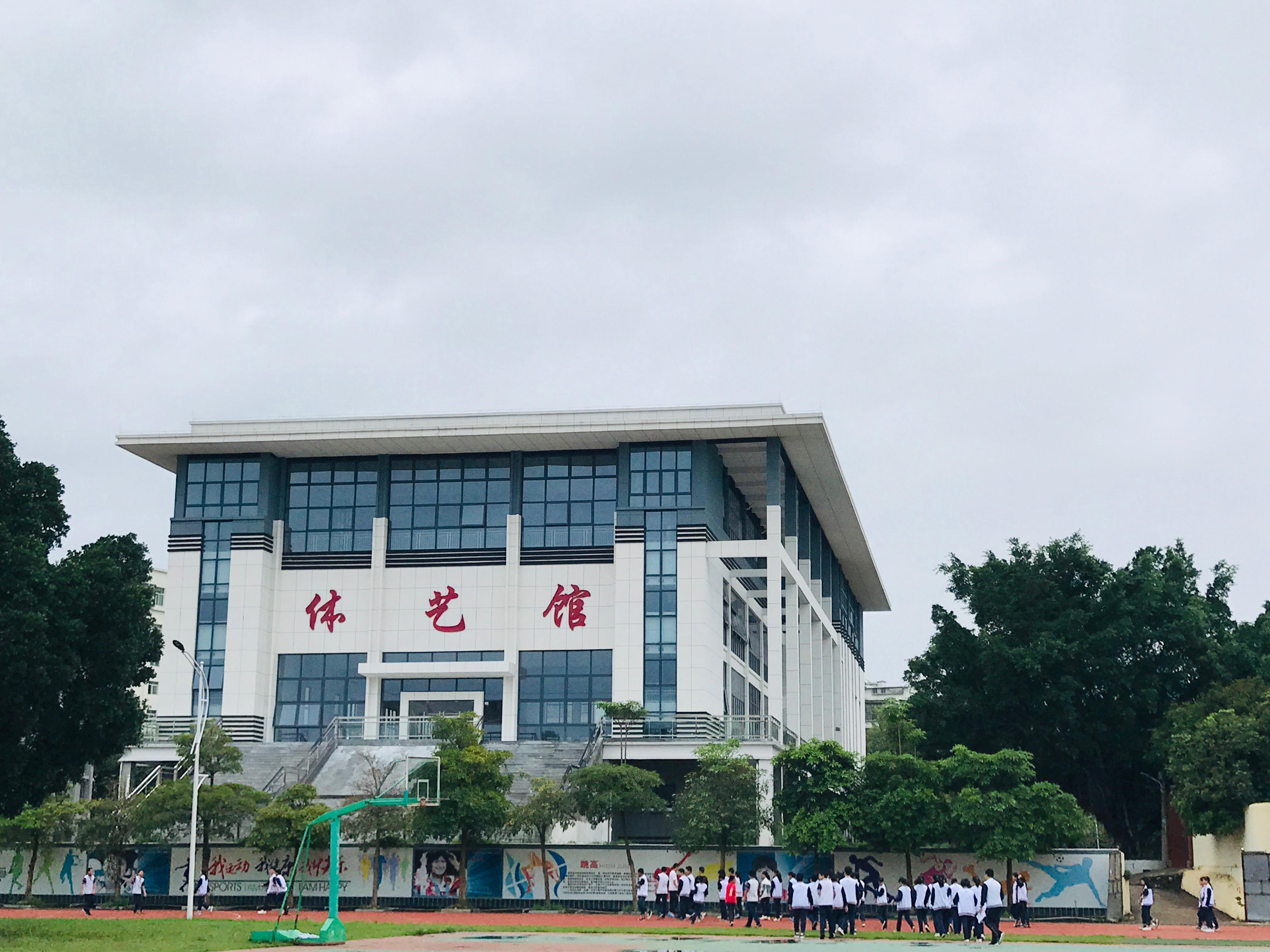 仙游县华侨中学校园风光