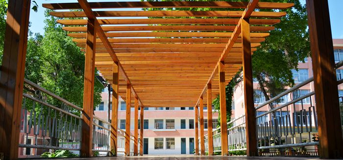 南平市高级中学校园风光